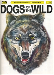 Dogs of the Wild - Coloring Book
