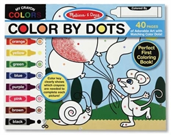 Color By Dots Coloring Pad - Exodus Books