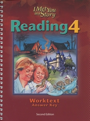 Reading 4 - Worktext Teacher Edition