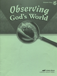 Observing God's World - Answer Key