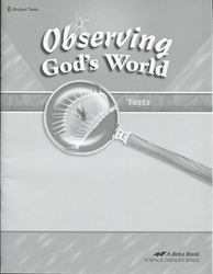 Observing God's World - Test Book