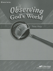 Observing God's World - Test Key