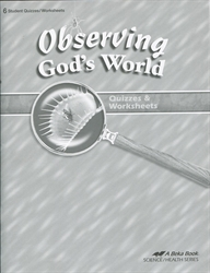 Observing God's World - Quiz Book
