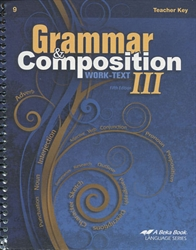 Grammar and Composition III - Teacher Key