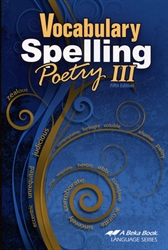 Vocabulary, Spelling, Poetry III - Workbook - Exodus Books