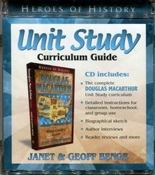 Douglas Macarthur - Unit Study Curriculum Guide CD