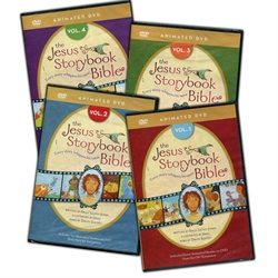 Jesus Storybook Bible Animated DVD - 4-Volume Set