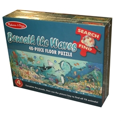 Beneath the Waves Floor Puzzle