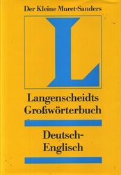 Langenscheidts Deustch to English