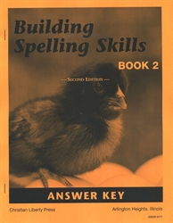 Building Spelling Skills Book 2 - Answer Key