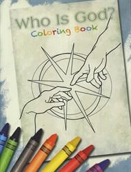 Who Is God? - Coloring Book