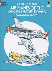 Airplanes of the Second World War - Coloring Book