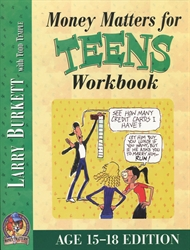 Money Matters for Teens - Workbook (Ages 15-18)