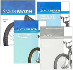 Saxon Math Intermediate 3 - Homeschool Kit