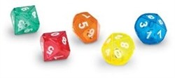 10-Sided Dice in Dice (5 pack)
