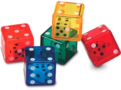 6-Sided Dice in Dice (5 pack)