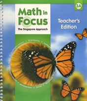 Math in Focus 3A - Teacher's Edition - Exodus Books