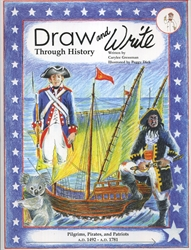 Draw & Write Through History Book 4 - Exodus Books