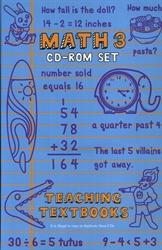 Teaching Textbooks Math 3 - CD-ROM