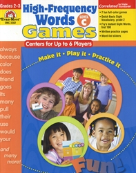 High-Frequency Words Games Level C - Exodus Books