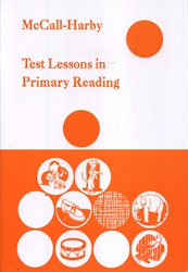 McCall-Harby Test Lessons in Primary Reading