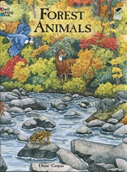Forest Animals - Coloring Book