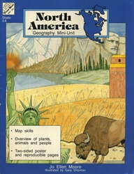 North America Geography Mini-Unit - Exodus Books