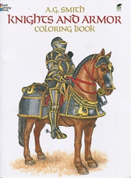 Knights and Armor - Coloring Book