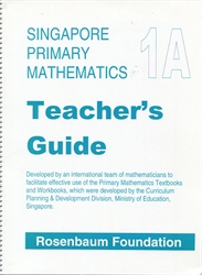Primary Mathematics 1A - Teacher Guide