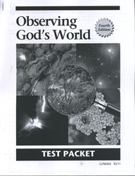 Observing God's World - CLP Tests