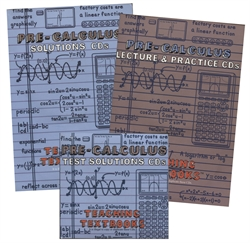 Teaching Textbooks Pre-Calculus CDs only (old)