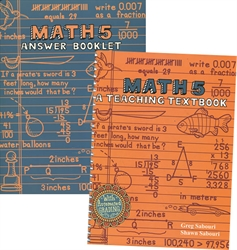 Teaching Textbooks Math 5 - Workbook & Answer Key