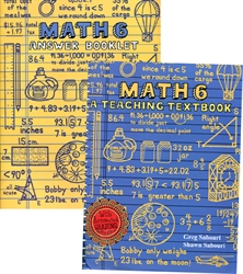 Teaching Textbooks Math 6 - Workbook & Answer Key