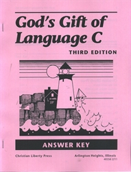 A Beka 6th Grade Language Teacher's Quiz/Test and Answer Key and Spelling Test Key