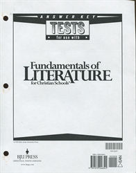 Fundamentals of Literature - Tests Answer Key (old)