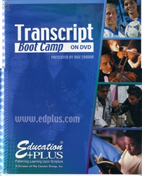 Transcript Boot Camp on DVD
