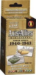 Axis & Allies Miniatures - North Africa '40-'43 Booster  Pack