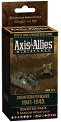 Axis & Allies Miniatures - Counter Offensive '41-'43 Booster  Pack - Exodus Books