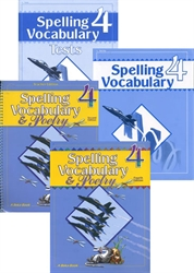 Spelling Vocabulary 4 - Set (old)