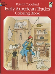 Early American Trades - Coloring Book