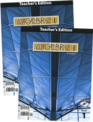 Algebra 1 - Teacher Edition with CD-ROM