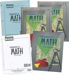 BJU Fundamentals of Math - Home School Kit (old) - Exodus Books