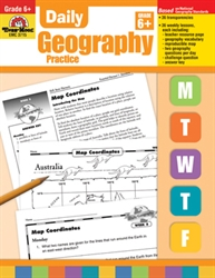 Daily Geography Practice Grade 6