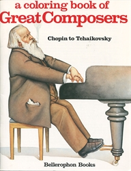 Coloring Book of Great Composers Book 2