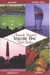 Amanda Bennett's Unit Studies Volume One - CD-ROM