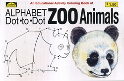 Dot-to-Dot Alphabet Zoo Animals