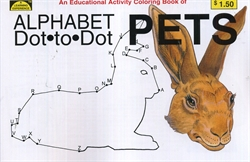 Dot-to-Dot Alphabet Pets