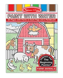 Paint With Water - Farm Animals - Exodus Books