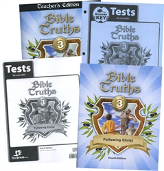 BJU Bible Truths 3 - Home School Kit - Exodus Books