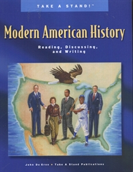 Take a Stand! Modern American History - Teacher & Student Set